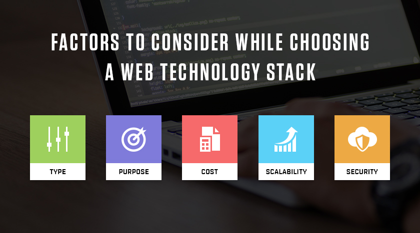 PICK THE RIGHT TECHNOLOGY FOR YOUR WEB APP BUCK